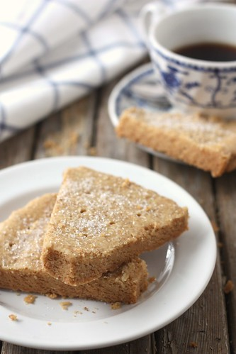Brown Butter Shortbread | by Completely Delicious