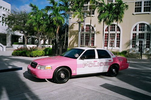 City Of Miami Beach Pink Police Car | by Phillip Pessar