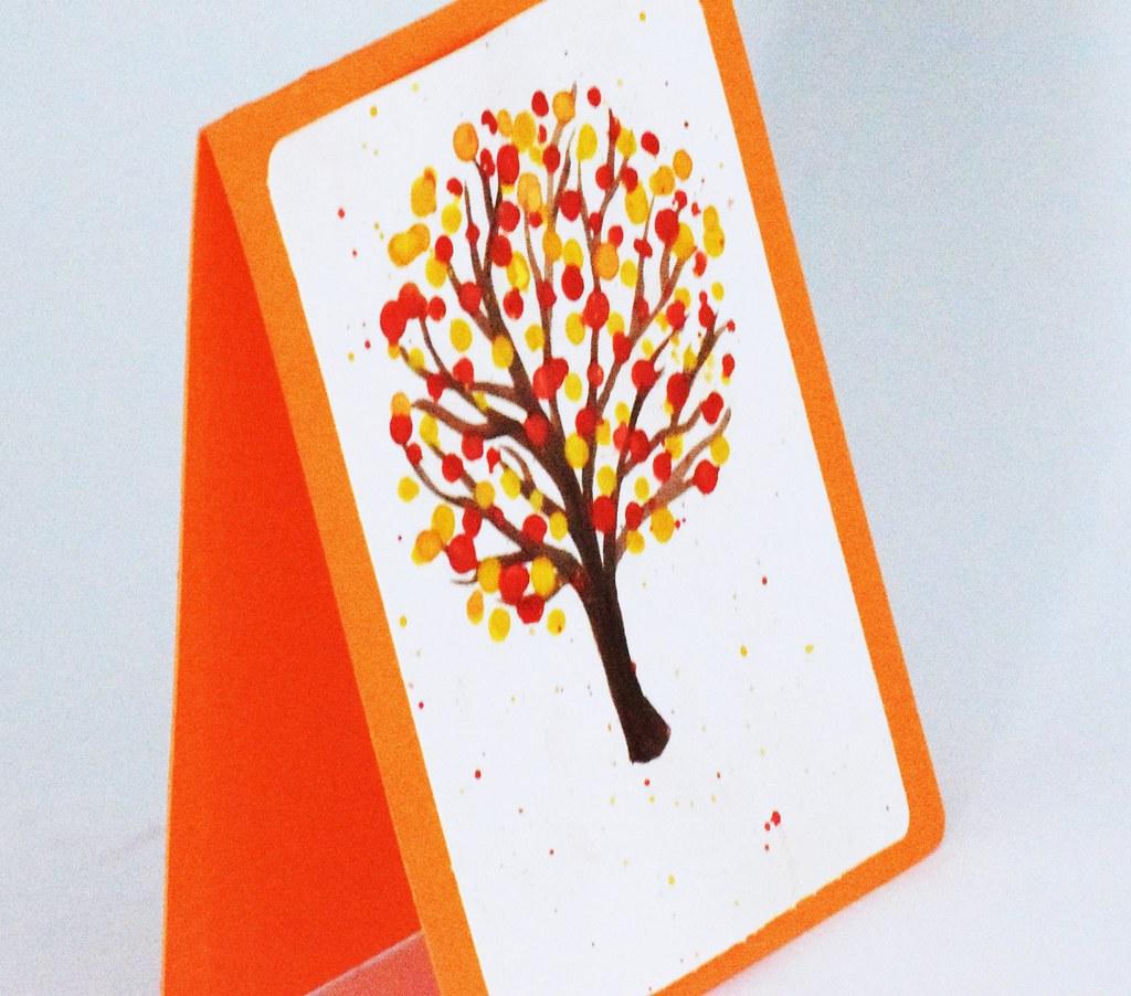 Fall Theme Card Happy Birthday Dad Birthday Card For My