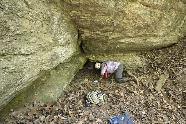 Brachiopod Cave entrance, Thany Mann, Williamson County, Tennessee