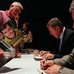 Packie Bonner book signing | © Jassy Earl