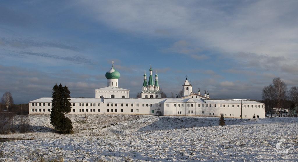 11 ноября 2012, Поездка в Свято-Троицкий Александра Свирского мужской монастырь