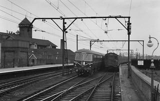 Chelmsford Railway Station,  September 28th 1958