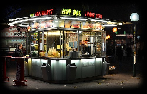 Frank Urter & his Hot Dog Booth | by NoDurians
