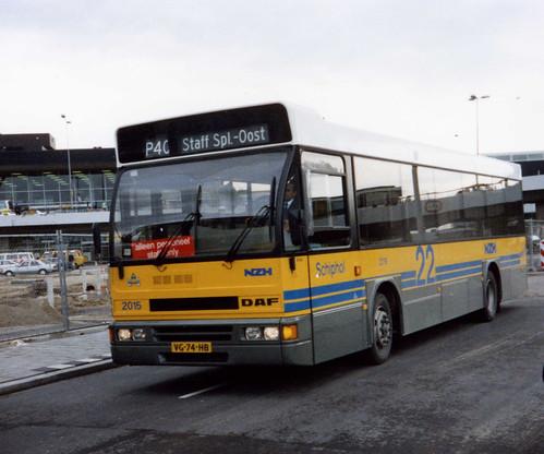NZH bus 2015 Schiphol Airport