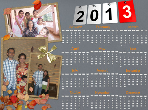 Picture Collage Maker 2013 Calendar | by ajgodinho