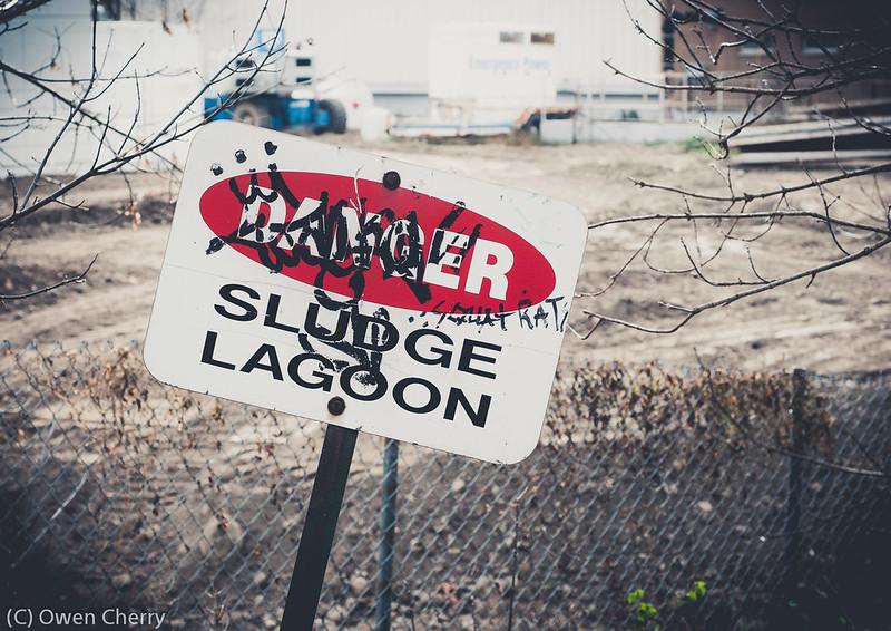 Sludge Lagoon