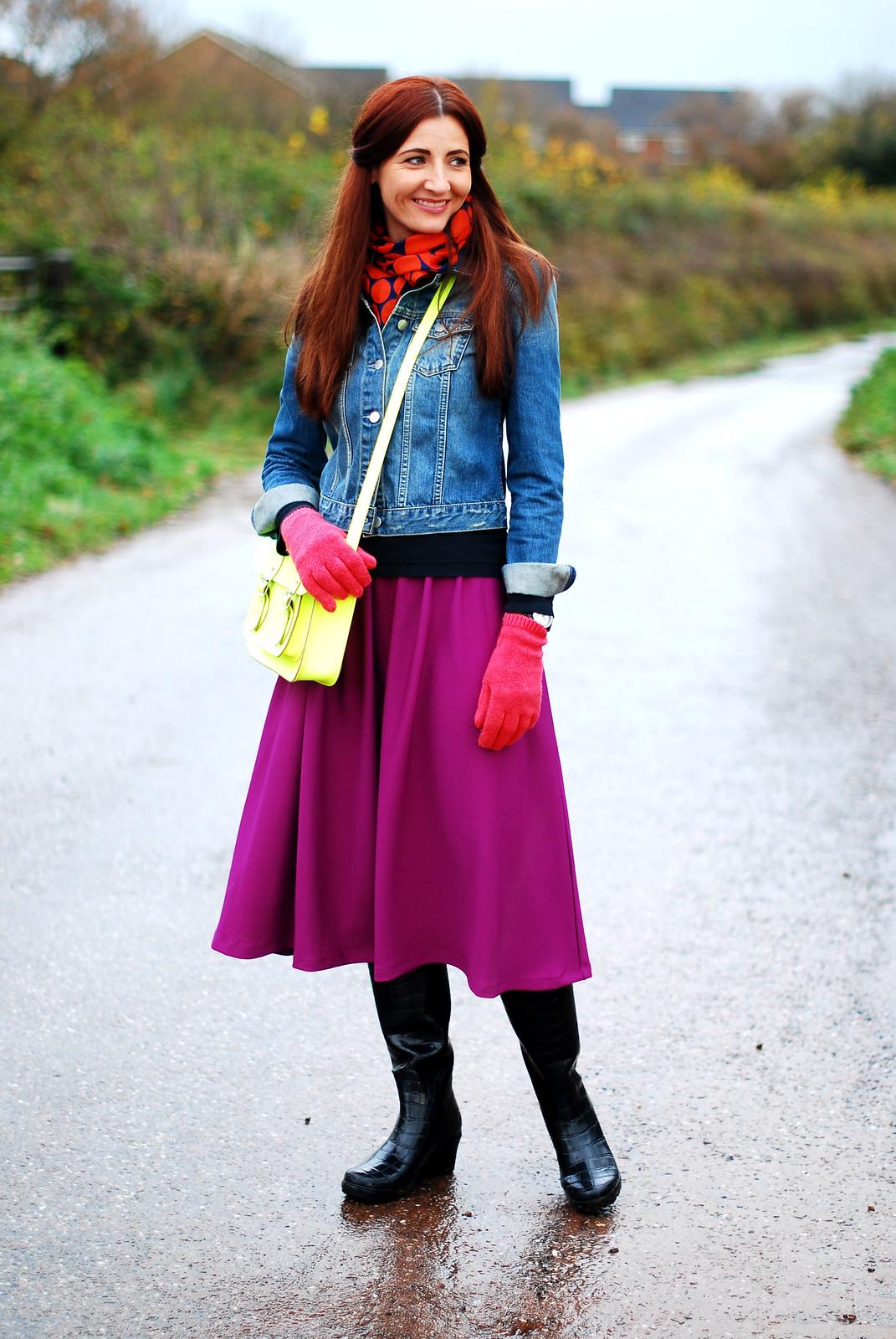 Bright Winter Colours
