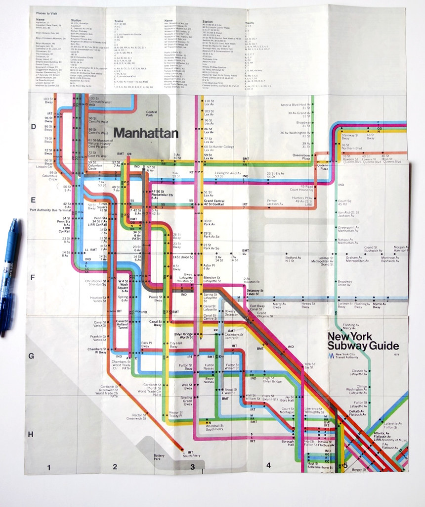 Nyc Subway Map Massimo Vignelli.Massimo Vignelli Subway Map Warymeyers Blog Flickr