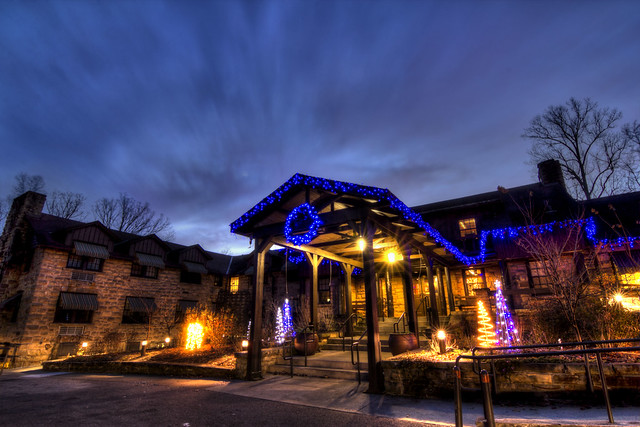 Dupont Lodge, Cumberland Falls State Resort, McCreary, KY