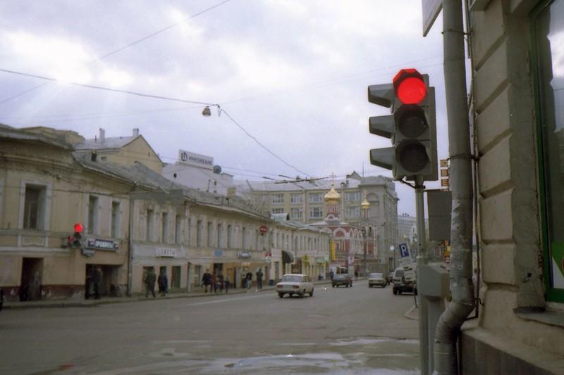 Угол ул. Варварки (1999г.)