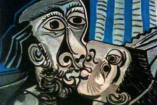 Pablo Picasso, Kiss, #3 (finished) | by zheng_zhong