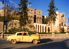 Aleppo in better times / The Citadel in Aleppo, Syria (Unesco WHS)