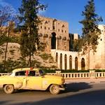 Aleppo in better times / The Citadel in Aleppo, Syria (Unesco WHS)