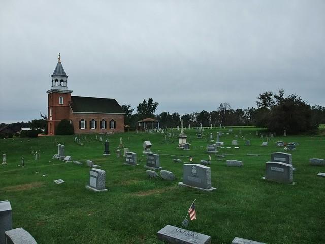 St. Francis Xavier Shrine, Old Bohemia Jesuit Mission Church, Warwick, MD