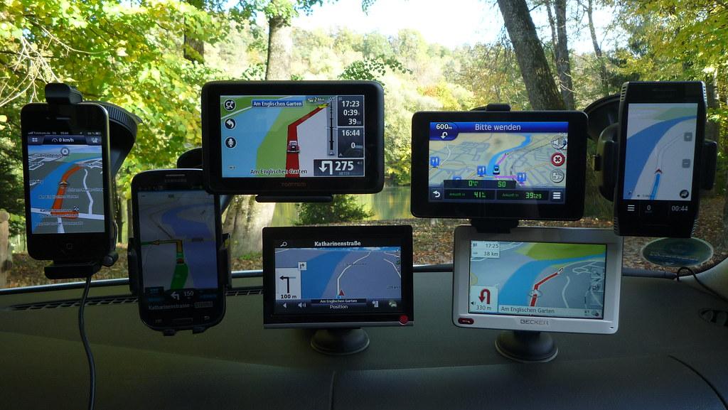 Navigation sur smartphone / Navigation via Smartphone