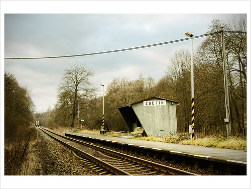 abandoned station train nikon tracks sigma rail railway deserted lateautumn 30mmf14 d7000 zdětín