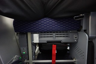 USB and AC under the seat | by sfoskett