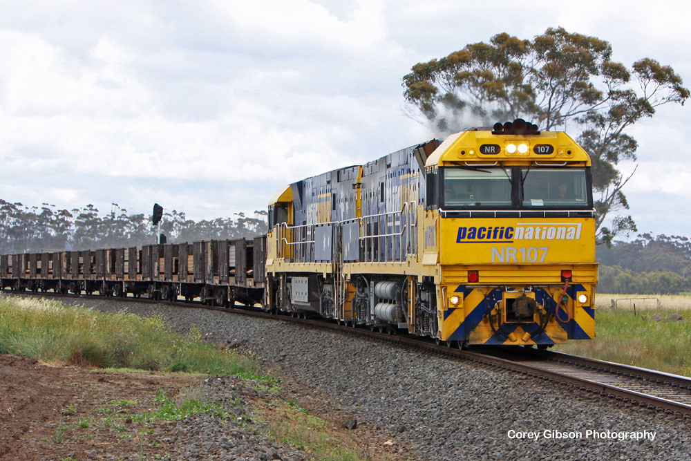 NR107 & NR41 with the PW4 steelie by Corey Gibson