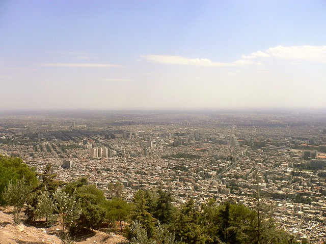 A view over Damascus, Syria