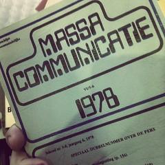 boek van de gratis-meeneem-tafel: Massacommunicatie 1978