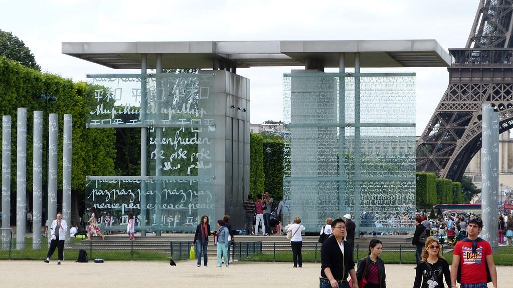 Muro De La Paz Paris Inspirado En El Muro De Los Lamentos Flickr