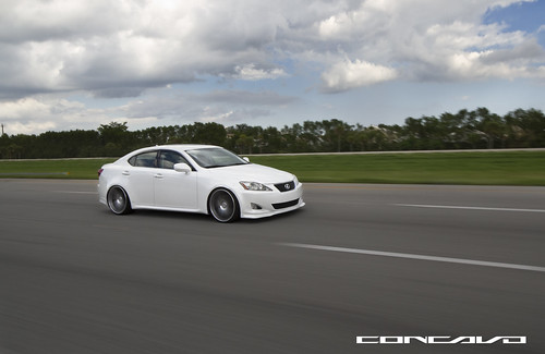 Lexus IS 250 on CW-S5 | by Concavo Wheels