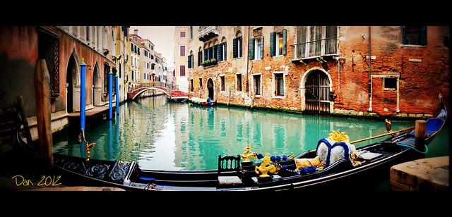Classica cartolina veneziana