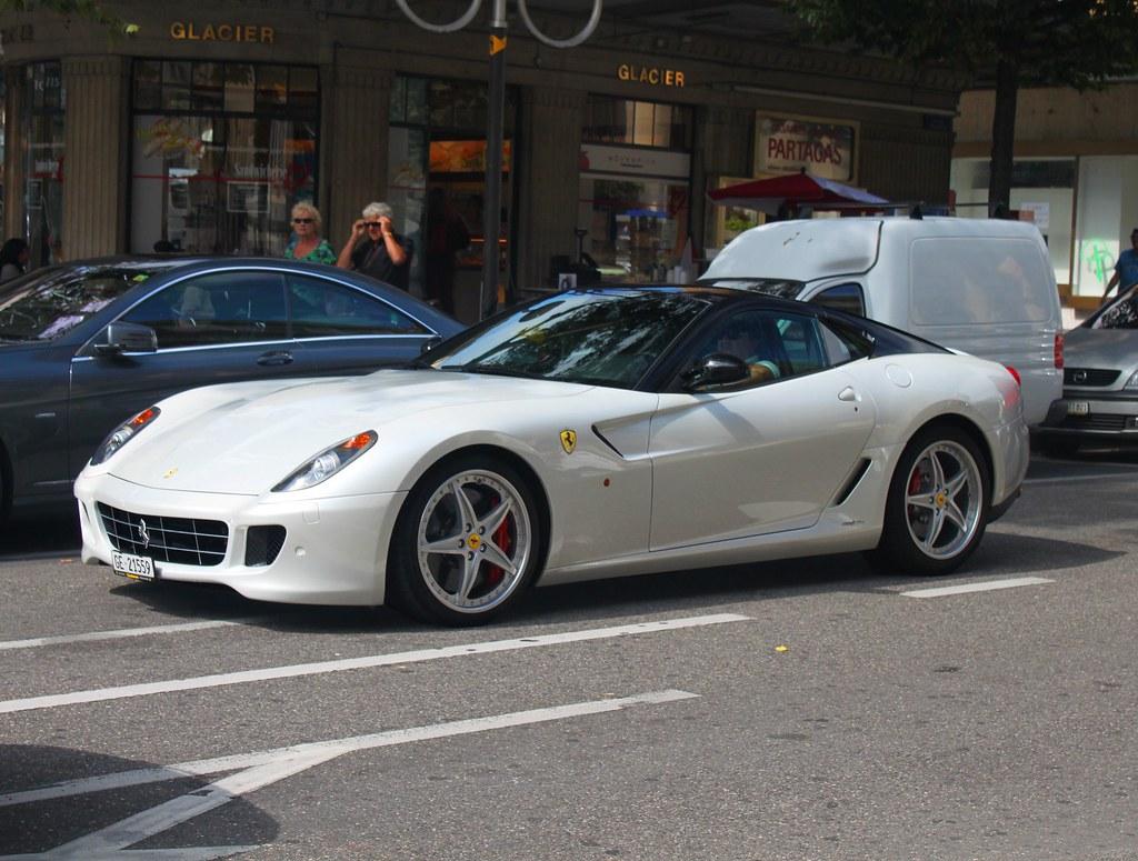 Ferrari 599 Gtb Fiorano Hgte White Is Not Really A Ferrar Flickr