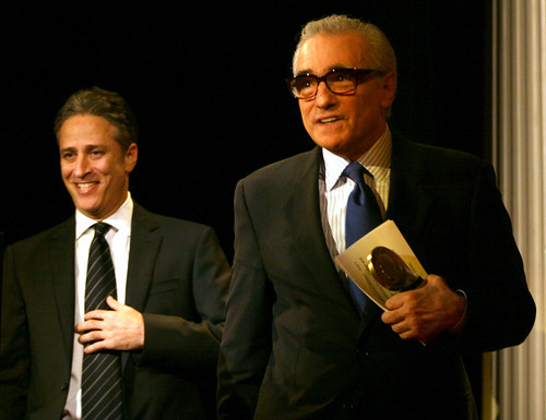 Jon Stewart and Martin Scorsese | by Peabody Awards