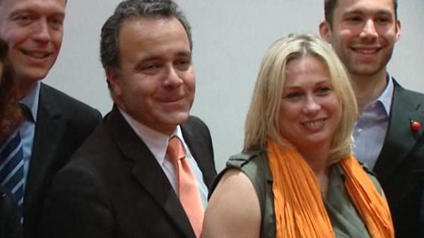 Denis Broliquier, Christelle Madeleine et Gauthier Blin
