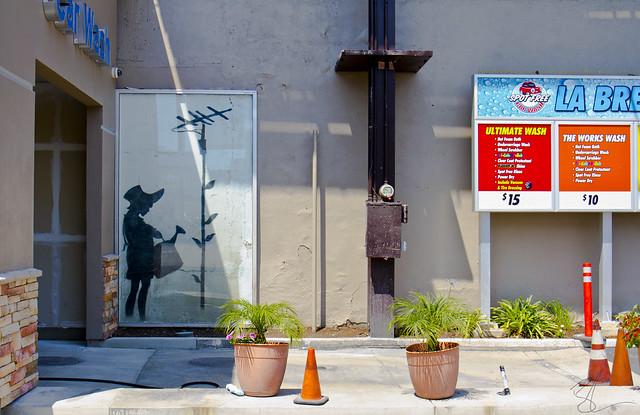 Banksy La Brea & Beverly2