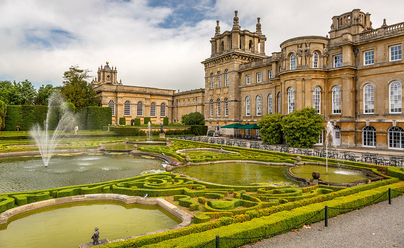 Blenheim Palace Water Terrace