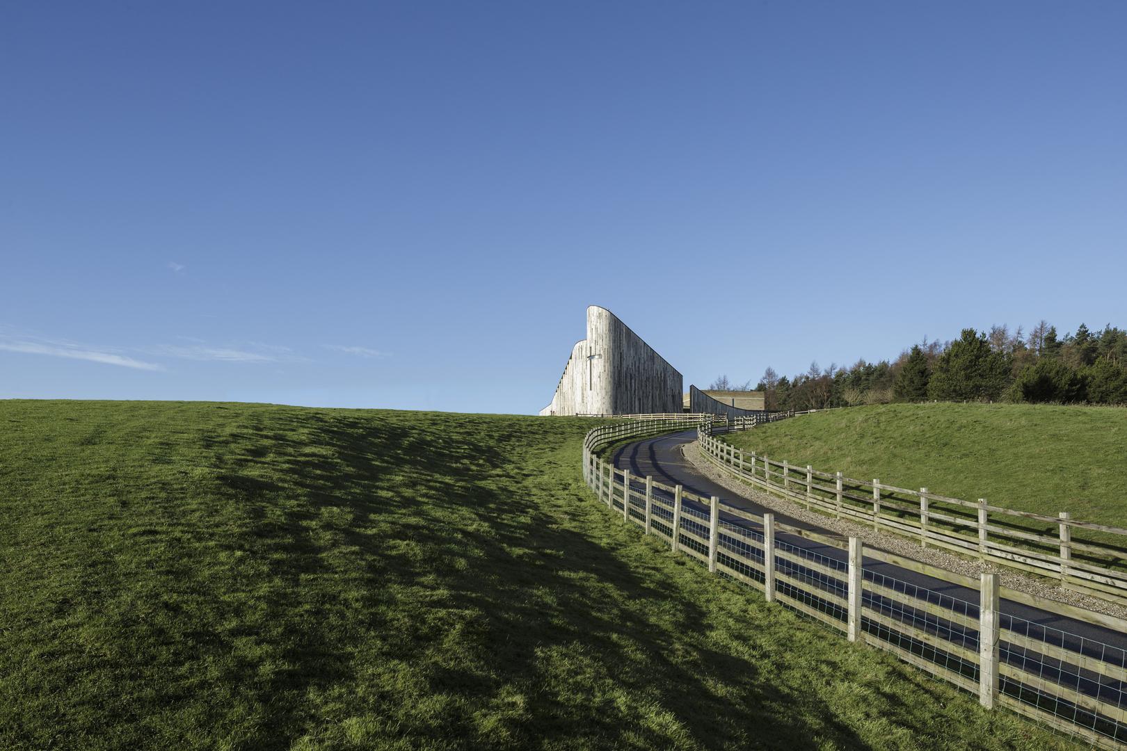 Stanbrook Abbey Church, Wass, Yorkshire - Feilden Clegg and Bradley Studios ® Tim Crocker