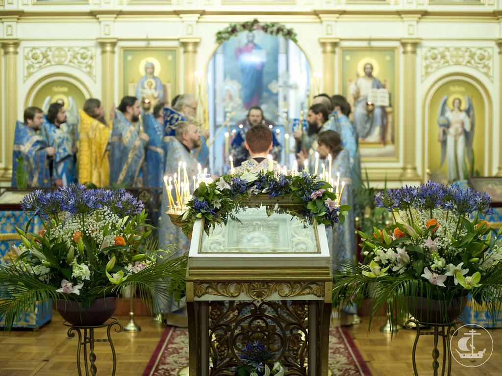 6 ноября 2012, Престольный праздник Скорбященского храма на Шпалерной