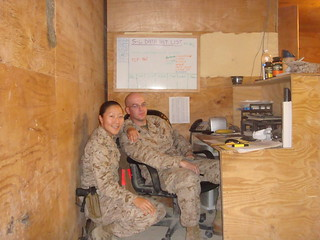 Kimco's Esther Kwon in Iraq