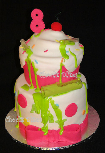 Amy's 8th birthday cake | by Choclit D'lites