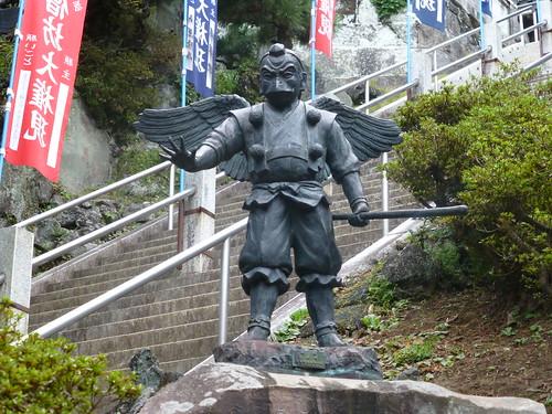 2012/11/11 (日) - 13:49 - 天狗の像 ー 半僧坊、建長寺
