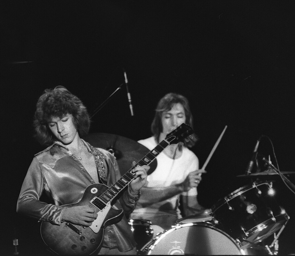 Mick Taylor & Charlie Watts of the Rolling Stones 1972 | Flickr