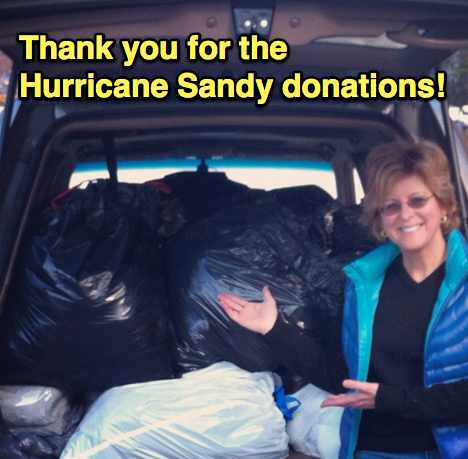 Hurricane Sandy Donations | by Debbie and Friends