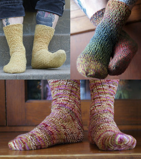 Billy Pilgrim Socks from Literary Knits | by thriftyknitter