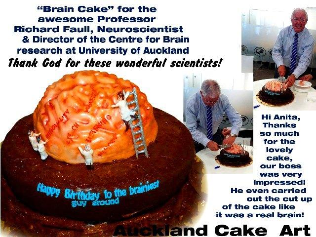 BRAIN CAKE FOR SURGEON