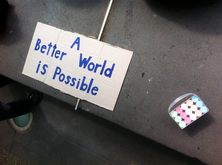 A Better World Is Possible | by teigan