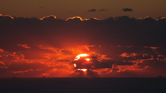 Atardecer / Sunset 01.12.12, Bolonia, Tarifa, Cádiz
