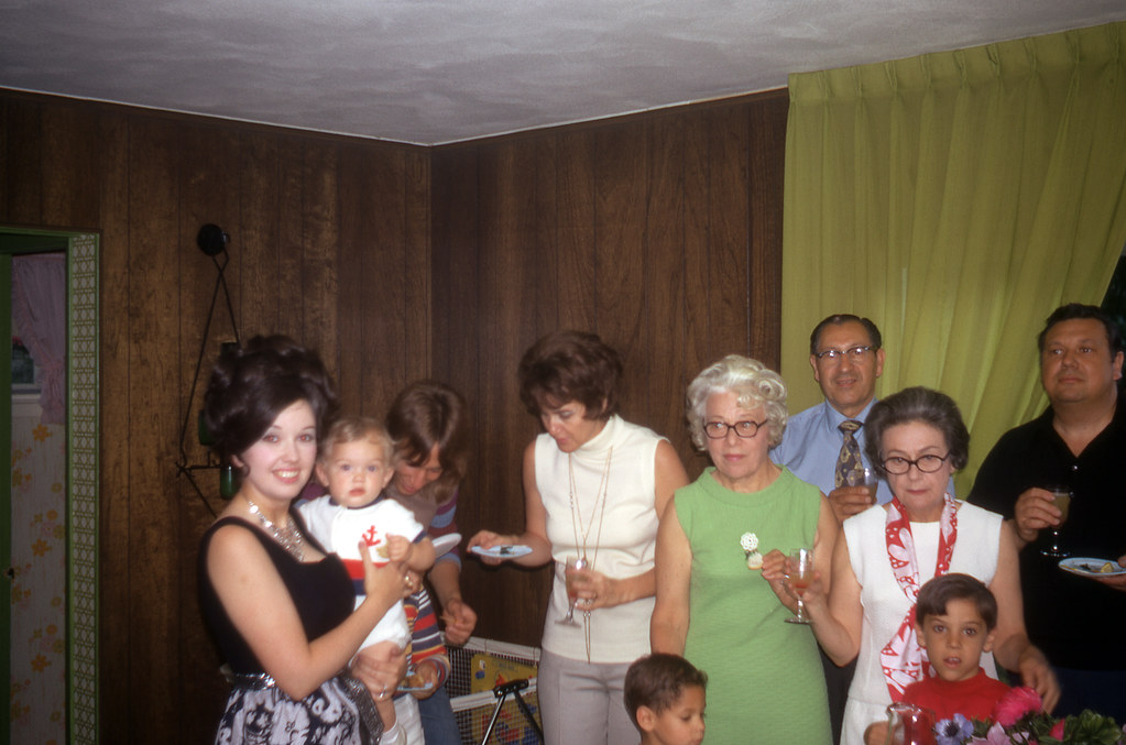 The family on my first birthday | Mom: I loved this picture