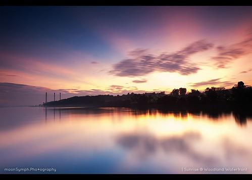sunrise woodland landscape singapore long exposure waterfront nikkor f28 2470