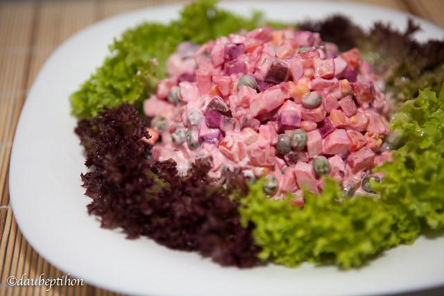 Salad Nga - Russian salad