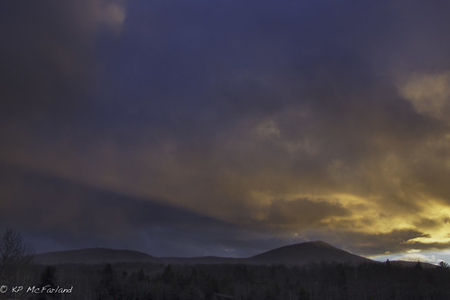 sunset mountains landscape vermont unitedstates killington greenmountains