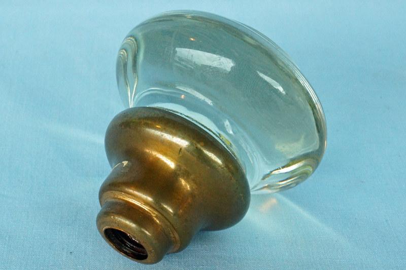 DSC01145 Single Vintage Glass Door Knob