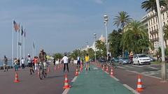 Ницца - велодоржка вдоль набережной